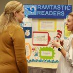 Teachers discuss school projects